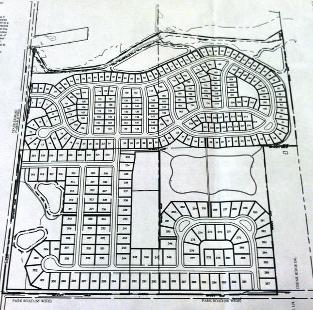 Honey Creek Site Plan